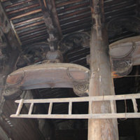 Beam structure of the first hall 2