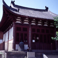 """Tianning si 天寧寺 """"Heavenly Peace Monastery"""" in 1998"""