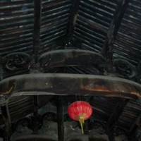 Beam structure of the hall