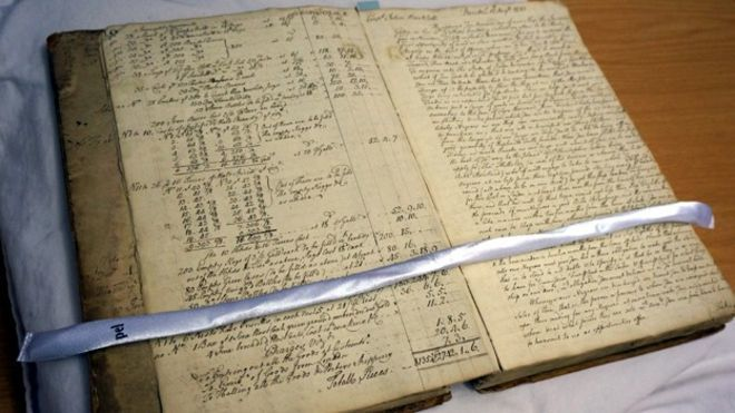 Ledgers from a Slave Ship