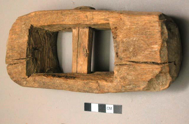 Umbundu Wooden Slave Shackles