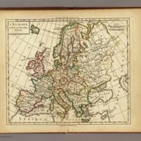 Delamarche's Map of Europe