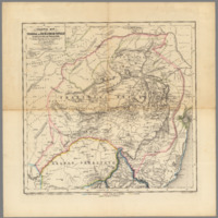 Original map of the Transvaal or South-African Republic