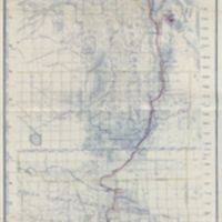 Topographic map of the Los Angeles aqueduct and adjacent territory
