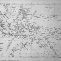 Map to Illustrate a Paper on the Physical Geography of the Malay Archipelago by Alfred Russel Wallace, Esq.