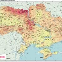 Chernobyl Radiation Map CS-137 Today