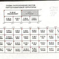 Karta radiat︠s︡ionnoĭ obstanovki na territorii evropeĭskoĭ chasti SSSR po sostoi︠a︡nii︠u︡ na dekabrʹ 1990 goda : plotnostʹ zagri︠a︡znenii︠a︡ mestnosti t︠s︡eziem-137 : masshtab 1:500 000