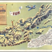 Western North Carolina, a Vacationist's Map and Guide