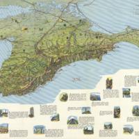 Krym, turistskaia skhema