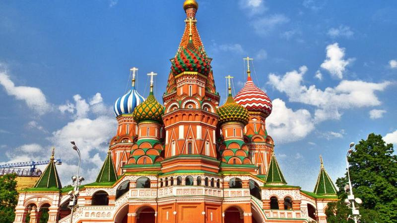 St. Basil's Cathedral Exterior