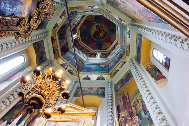 St. Basil's Cathedral Ceiling
