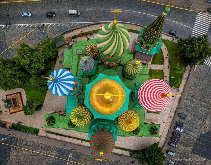 St. Basil's Cathedral Top View