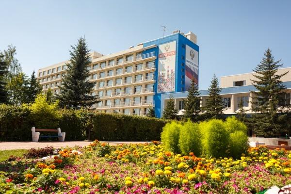 Garden Area of the Novogorsk Training Center
