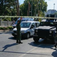 Dolmabahce Attack Scene