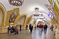 Kievskaya-Koltsevaya Moscow Metro station