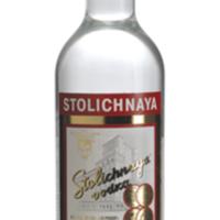 Bottle of Stolichnaya vodka