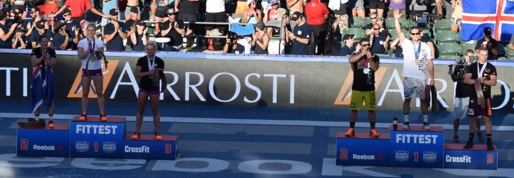2015 CrossFit Games Champions
