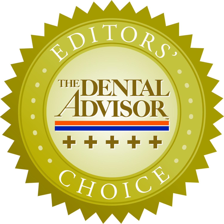 Dental Advisor Editors Choice Award