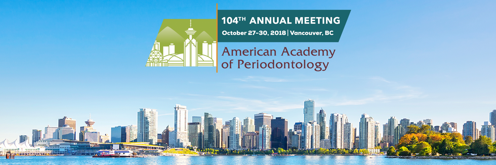 AAP American Academy of Periodontology 2018 Meeting