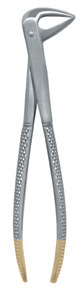 Ash lower anterior and premolar diamond grit forceps large