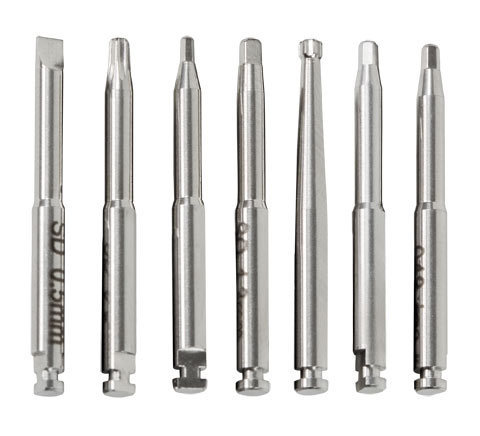 Individual latch type bits for right angled driver  straight screwdriver    bit1 large