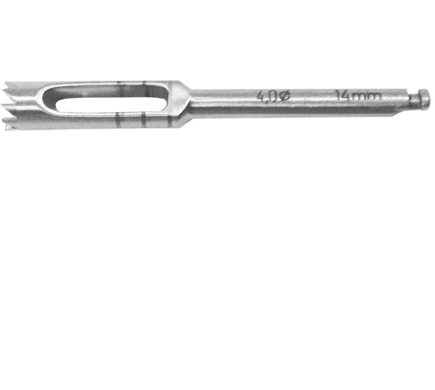 Trephine drill explantation 4 0mm xlarge