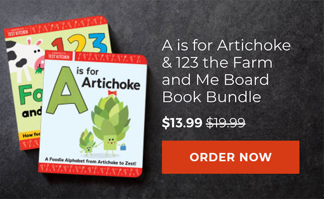 A is for Artichoke & 123 The Farm and Me Board Book Bundle - $13.99 - Preorder Now→