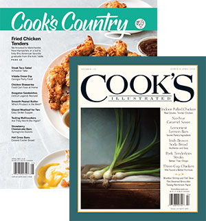 Cook's Illustrated and Cook's Country