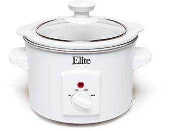Elite Cuisine 1.5 Quart Mini Slow Cooker