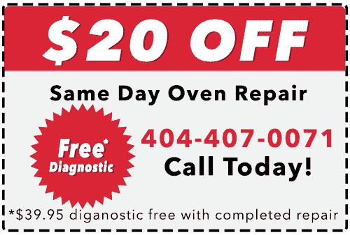 Electrolux Oven Repair Coupon - Redeemable Only In the Metro Atlanta Area