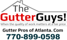 Website for Gutter Pros of Atlanta.com