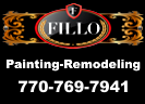 Website for Fillo Painting Contractor, Inc.