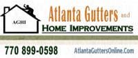 Website for Atlanta Gutters & Home Improvements