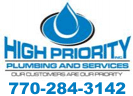 Website for High Priority Plumbing & Services, Inc.