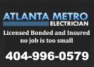 Website for Atlanta Metro Electric, LLC