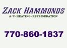 Website for Zack Hammonds A/C, Heating, Refrigeration, Inc.