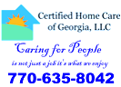 Website for Certified Home Care of Georgia, LLC