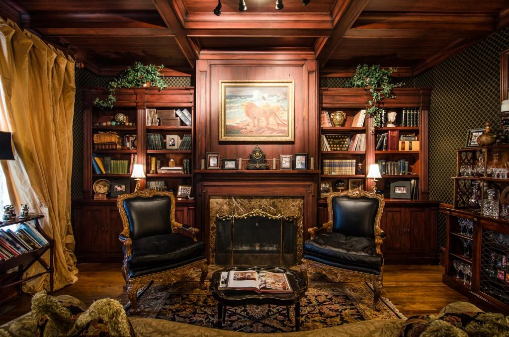 White House Billiards Room