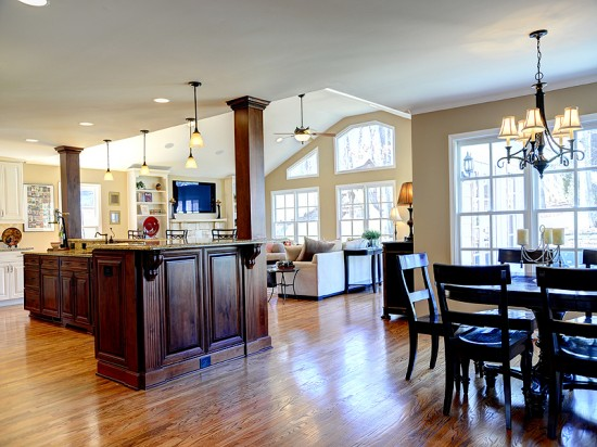 kitchen great room design chef s kitchen renovation may just be the best one in all 4925