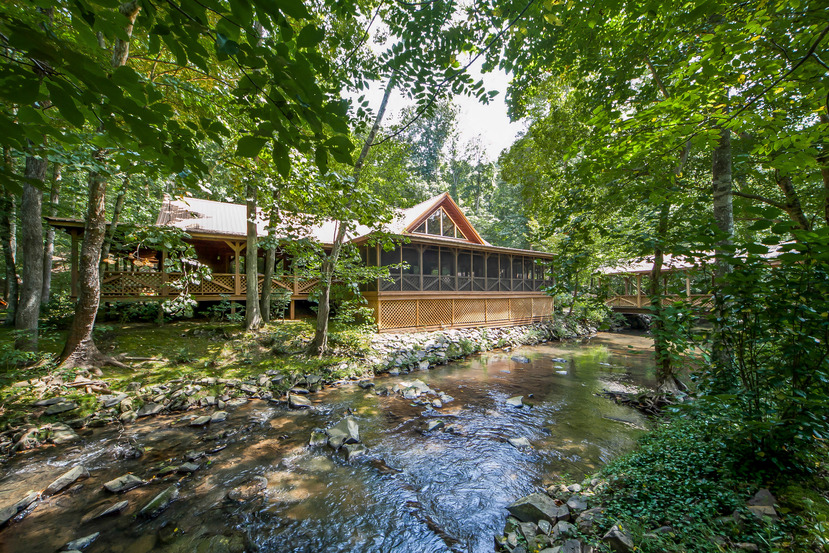 Custom north georgia cabin previously listed atlanta for South georgia custom homes