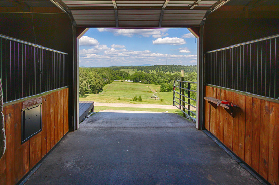 North Georgia Horse Farm With Picturesque Grounds