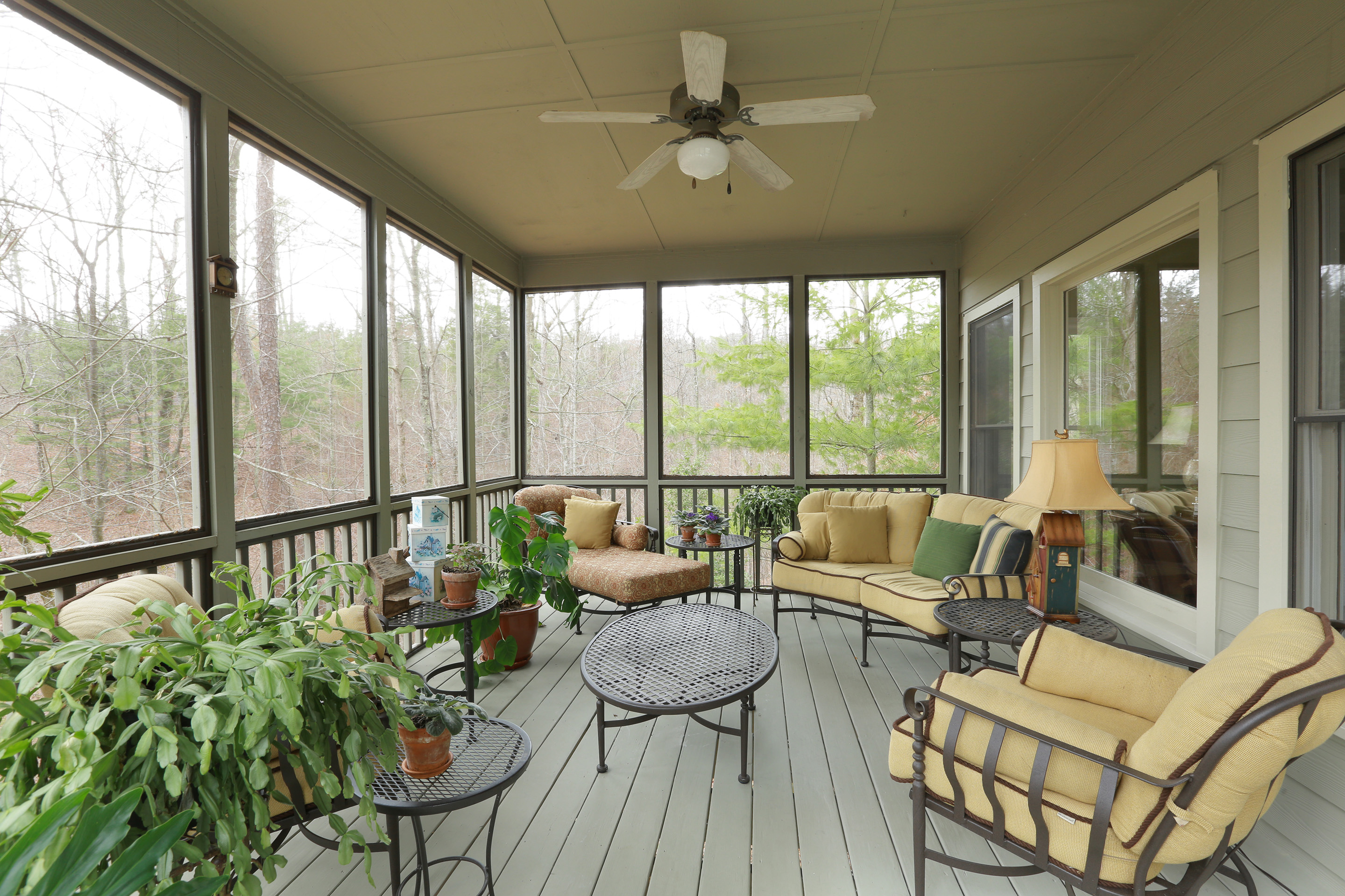 Screened Porch In Big Canoe