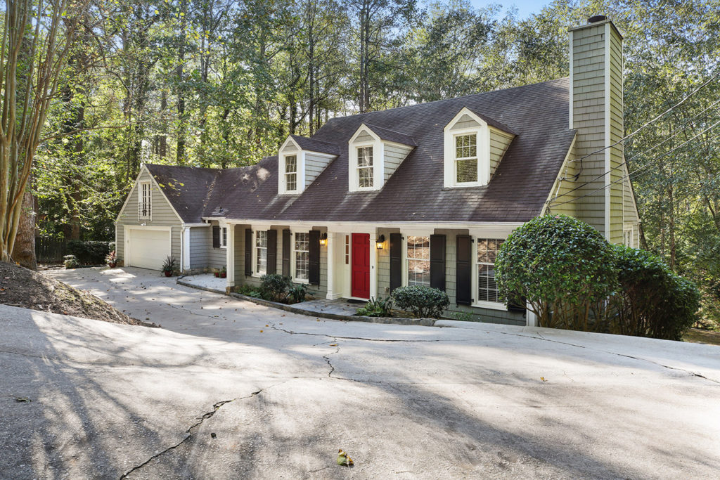 Phenomenal Cape Cod Style Cottage In The Heart Of Buckhead Previously Download Free Architecture Designs Sospemadebymaigaardcom