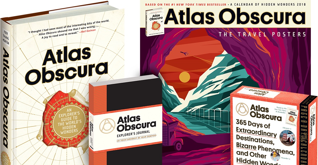 Atlas Obscura Books and Calendars