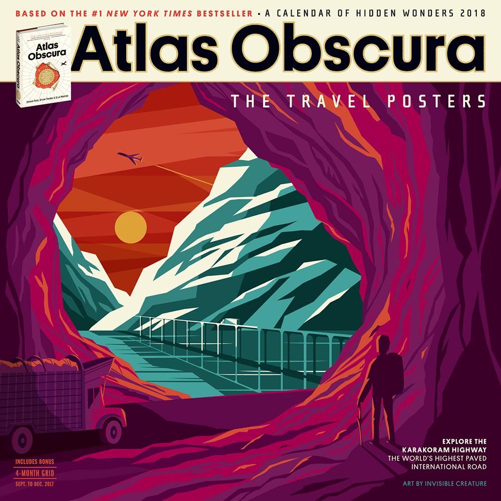 Art Calendar Book : Atlas obscura books and calendars