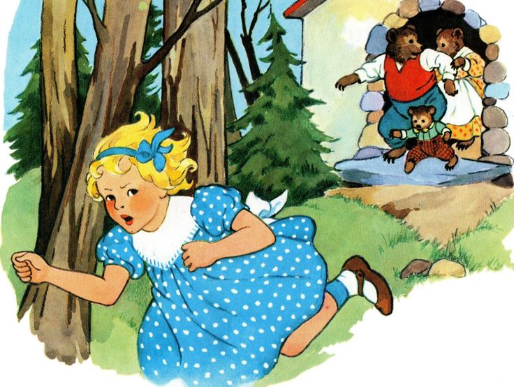 RL.K.2, RL.K.10 Passage - The Story of Goldilocks and the Three ...