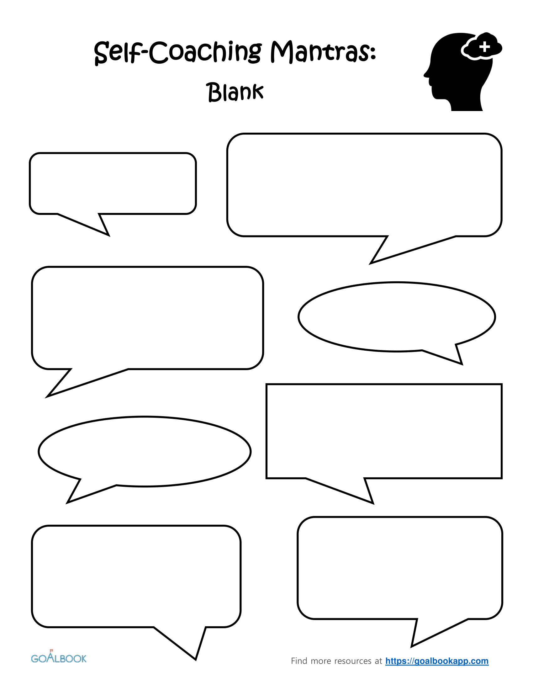 Self-Coaching Mantras: Blank Template