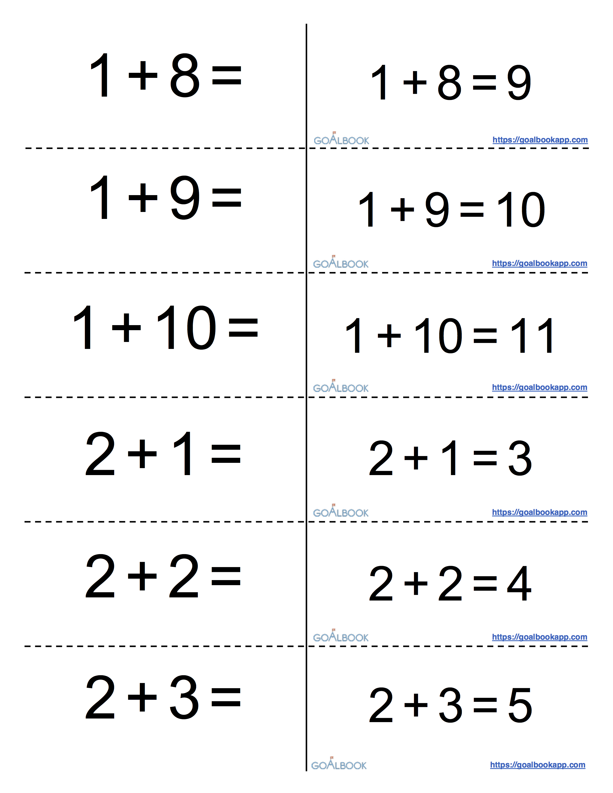 Worksheet Printable Division Flashcards math flashcards goalbook pathways full resource contains