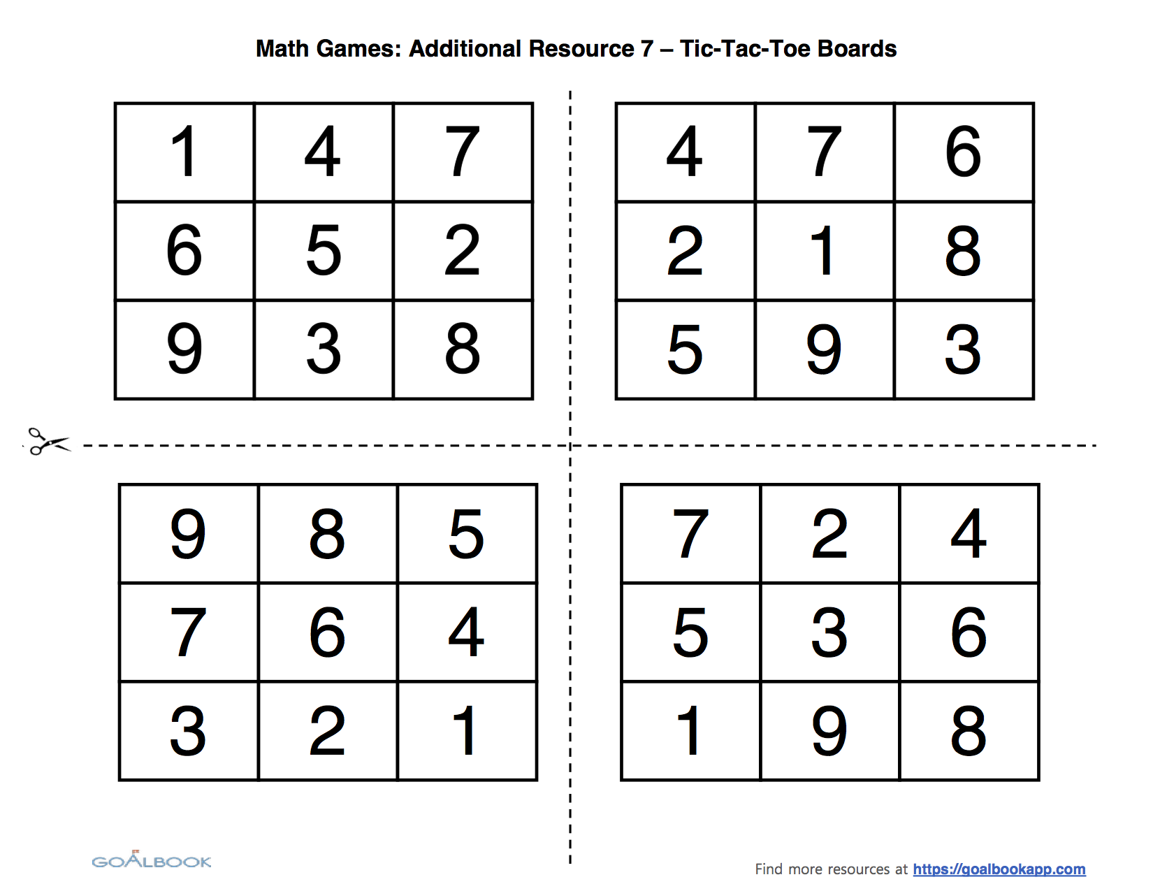 Uncategorized Tic Tac Toe Math Worksheets 1 oa 3 properties of additionsubtraction math operations full resource contains