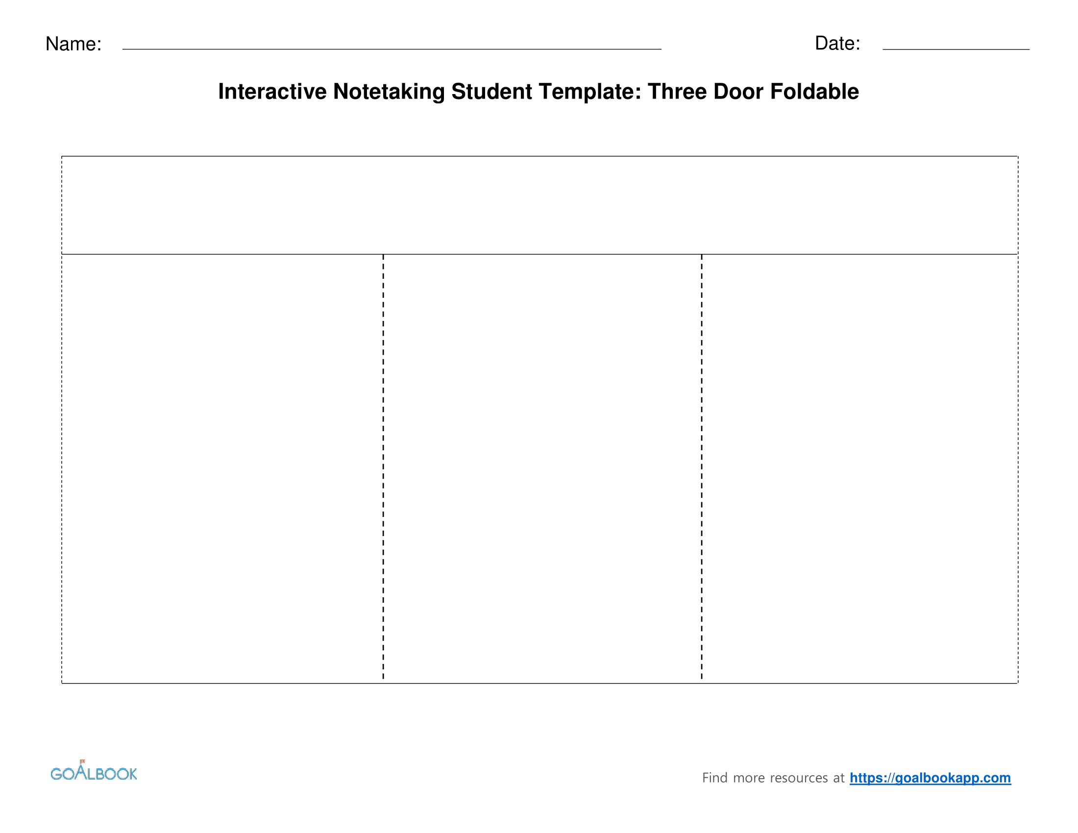 pages note taking template